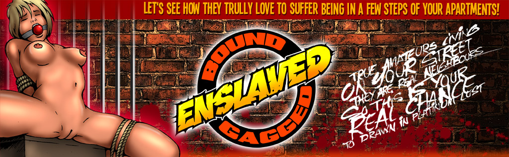 bound - gagged - enslaved