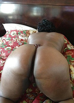 ebony ass