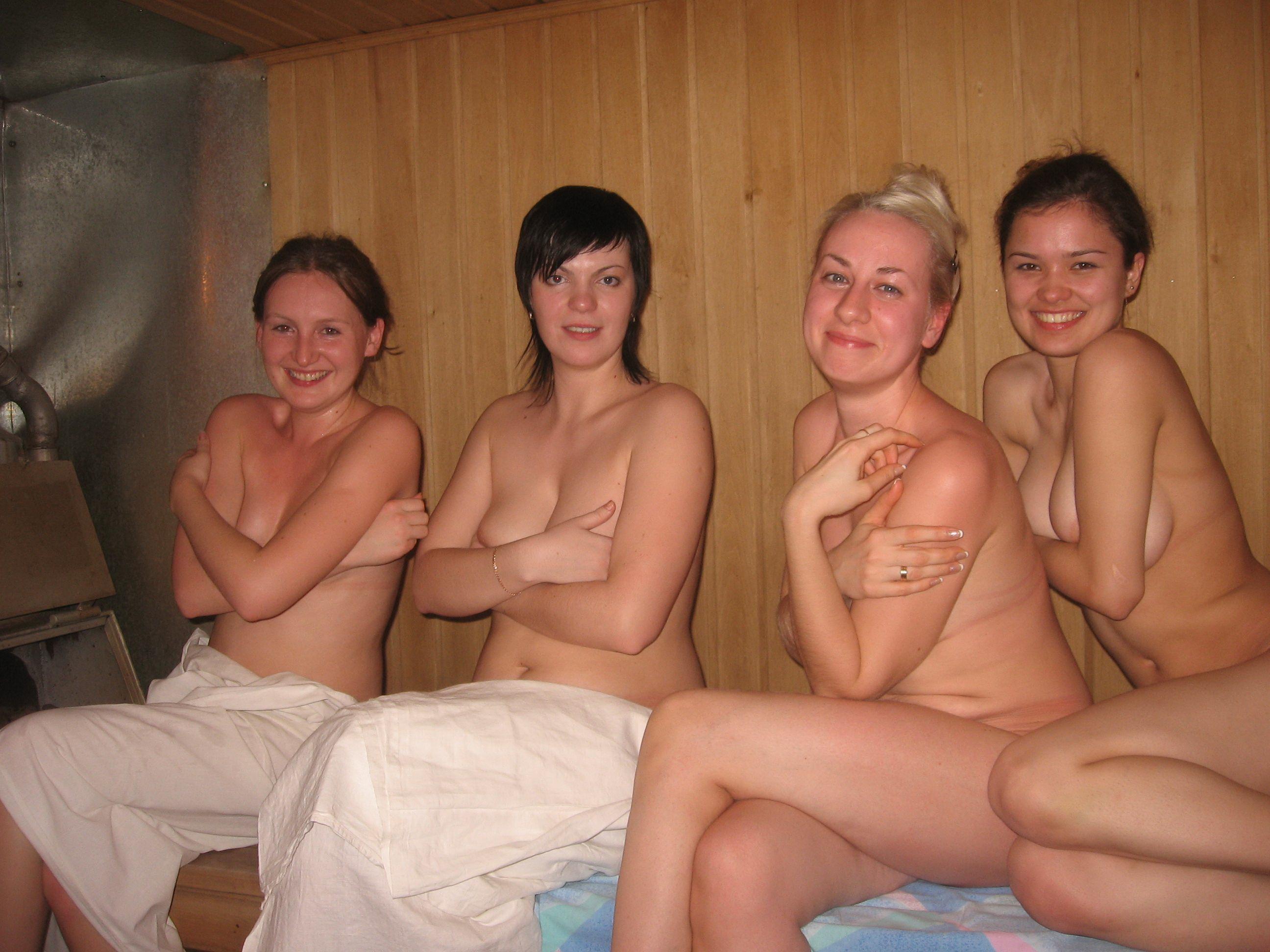 семейный секс нудизм в бане
