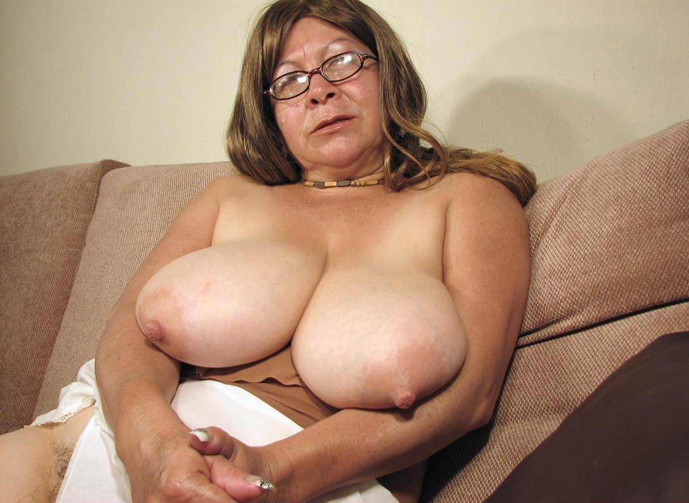 Granny Big Boobs-4055