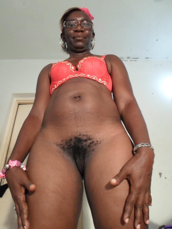 Older black nude women