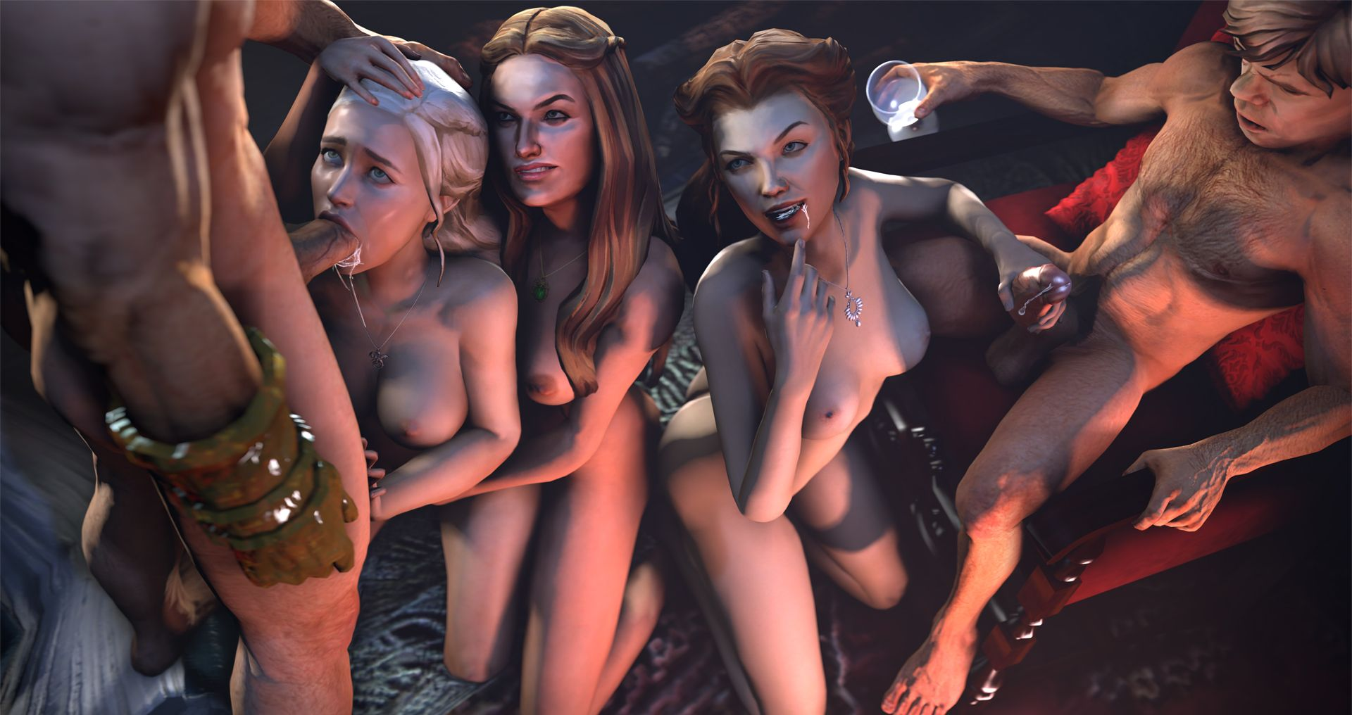 Война престолов секс