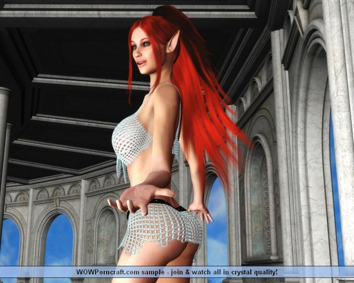 Red Light District Elf By Poser Fantasy Pinkworld 1