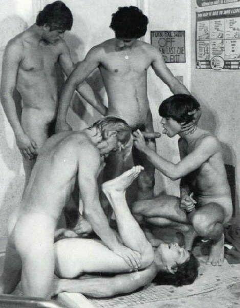 Vintage gay naked lads tube