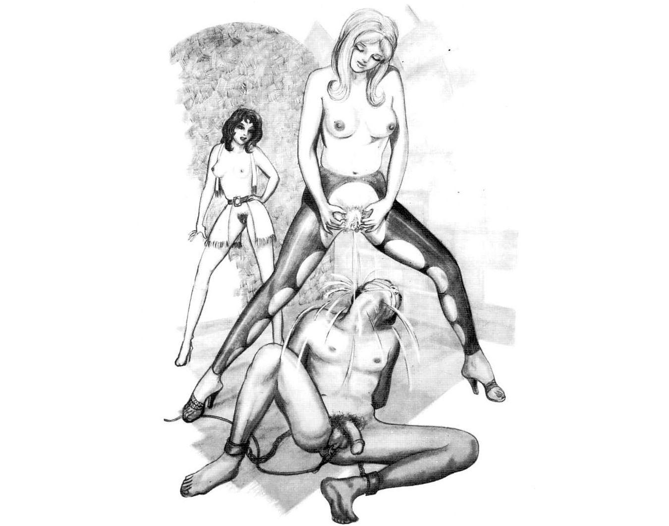 порно фемдом арт