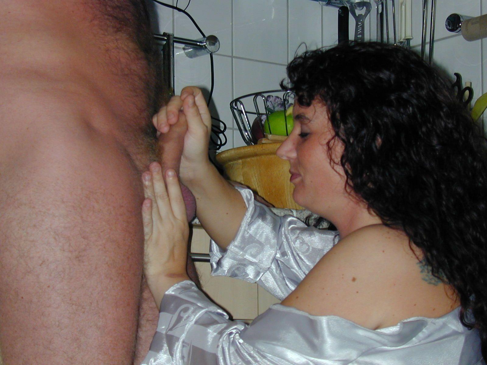 Жена муж бреет член порно