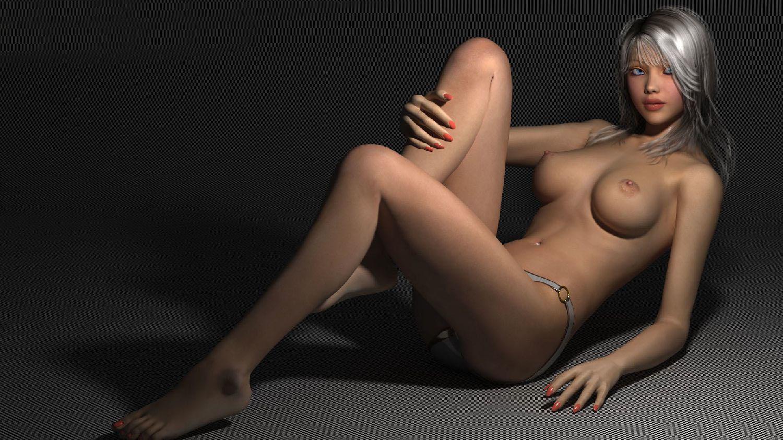 голые девушки 3д